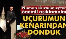Başbakan Yardımcısı Kurtulmuş, Atatürk Üniversitesi akademik yıl açılışına katıldı