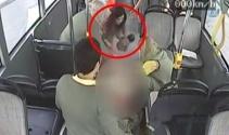 Otobüste doğum kamerada!
