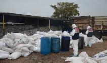 Diyarbakırda bomba yapımında kullanılan 157 ton amonyum nitrat ele geçirildi