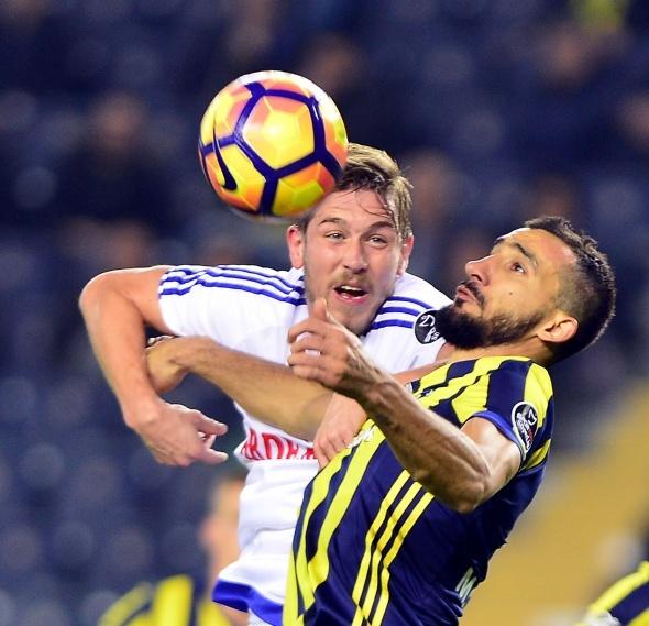 Fenerbahçe Karabükspor maçından özel kareler