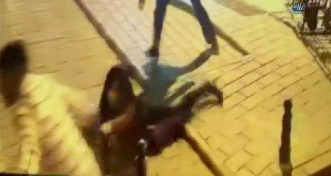 Laleli'de kapkaççı dehşeti kamerada