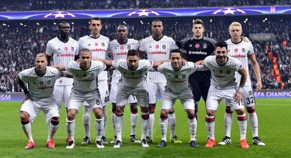 Beşiktaş Napoli maçından özel kareler