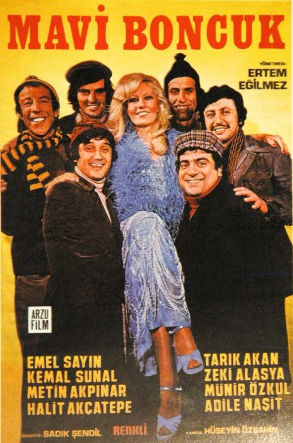 Kemal Sunal'a 'Mavi Boncuk'lu yaş günü