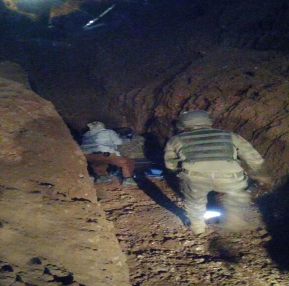 Nusaybin'den Suriye'ye uzanan tünel bulundu