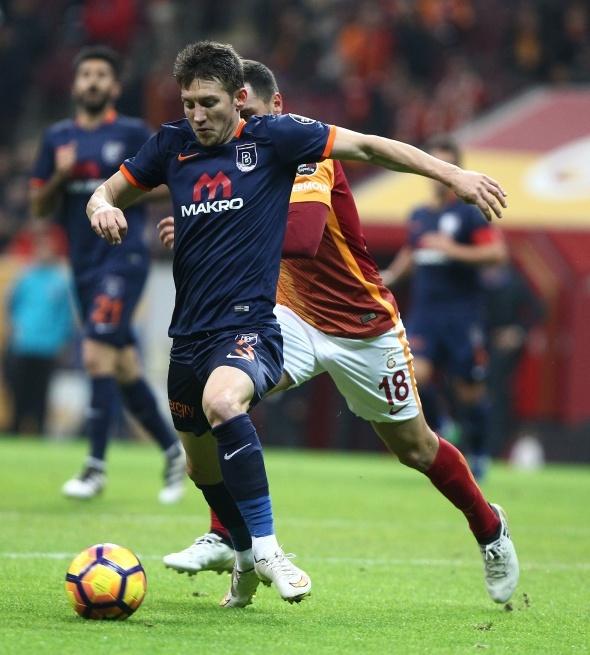 Galatasaray Başakşehir maçından özel kareler