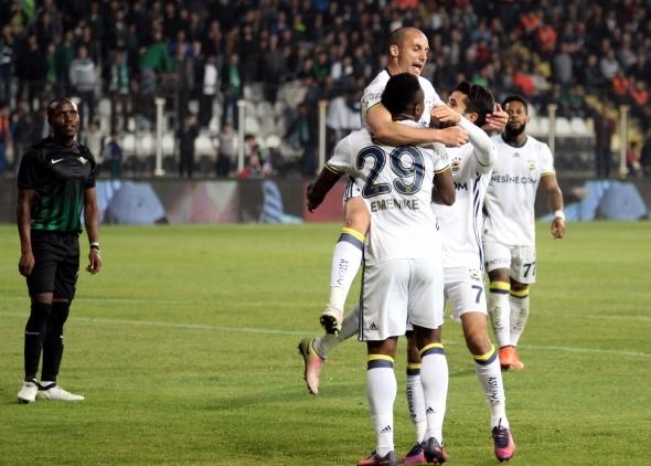 Akhisar Fenerbahçe maçından özel kareler