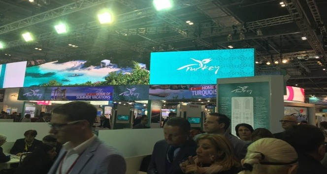 TÜRSAB Didim Başkanı WTM Turizm Fuarında Didim'i tanıttı