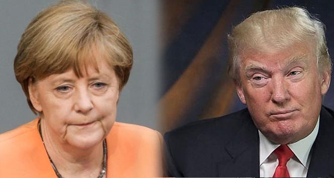 Merkel, Trumpla ilk kez yüz yüze görüşecek
