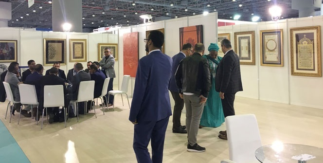 Türk Hat Sanatı Kumbarıcı4 sergisi ile MÜSİAD EXPO'da temsil ediliyor