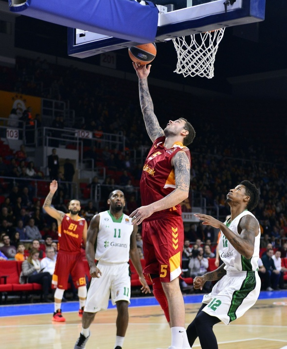 Galatasaray, Euroleague'de Daçka'yı devirdi