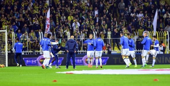Fenerbahçe Galatasaray maçından özel kareler