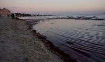 Marmaraereğlisi'nde deniz 10 metre çekildi