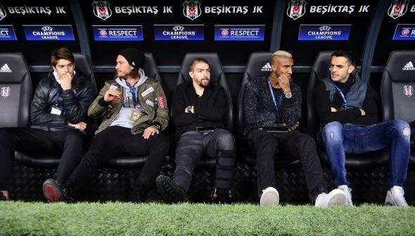 Beşiktaş Benfica maçı özel kareler...