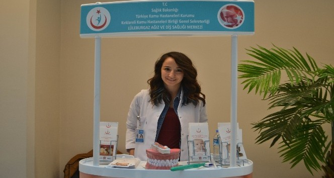 Öğrencilere ağız ve diş sağlığı taraması