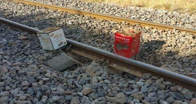 Bingölde demiryoluna hain saldırı!