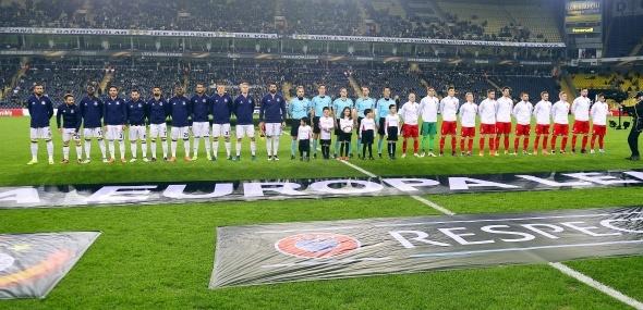 Fenerbahçe Zorya Luhansk maçı özel kareler