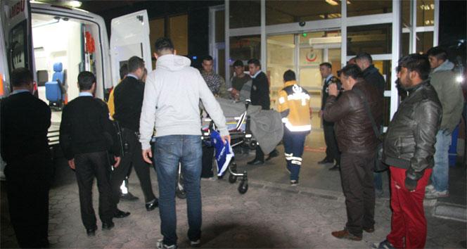 El Bab operasyonunda yaralanan askerler Kilise getiriliyor