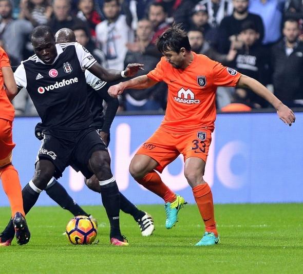 Beşiktaş Başakşehir maçı ÖZEL KARELER...