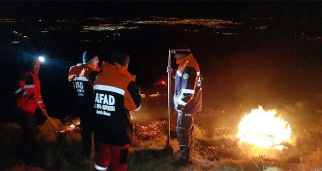 Aksaray Hasan Dağında yangın