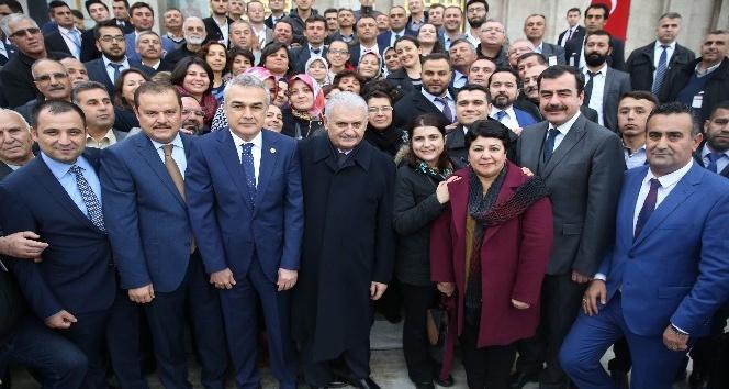 Yenipazar ve Germencik teşkilatları AK Parti Grup Toplantısına katıldı