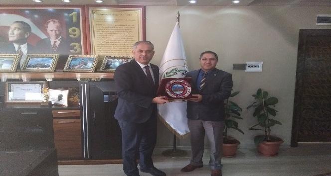 Bilecik PTT Başmüdürü Bozkurt'tan Başkan Yaman'a ziyaret