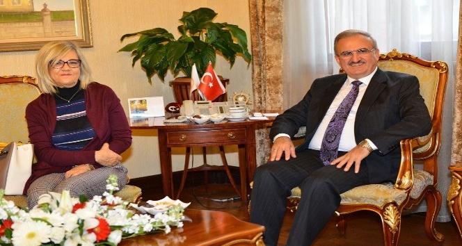 Portekiz Büyükelçisi'nden Vali Karaloğlu'na ziyaret