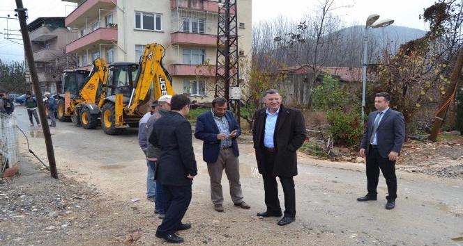 Vezirhan Beldesi İstasyon Mahallesi doğalgaza kavuşuyor