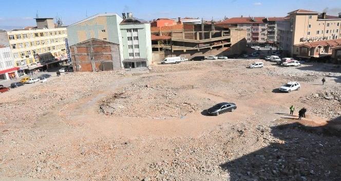 Akşehir Dudu Kadın Çarşısı'nın yapım işi ihalesi tamamlandı