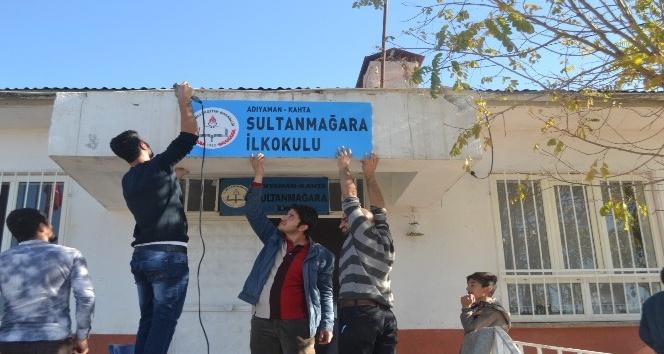 Adıyaman Üniversitesi öğrencilerinden sosyal sorumluluk projesi