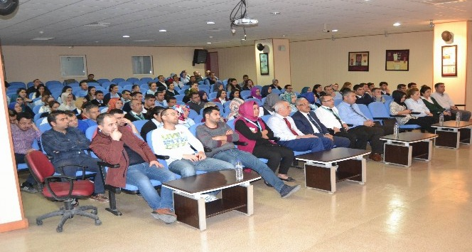 Kilis Devlet Hastanesi'nde bilgilendirme toplantısı
