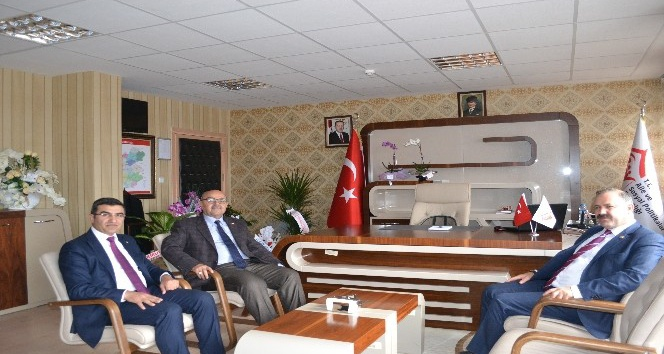Ak Parti Milletvekili Deligöz, ASP İl Müdürlüğü'nü ziyaret etti