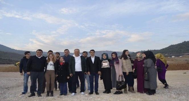 Gençlerden Bayırköy Beldesi'ne ziyaret