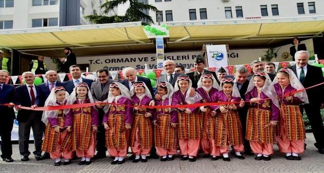 Orman ve Su İşleri Bakanlığı Mobil Tanıtım TIR'ı Samsun'da