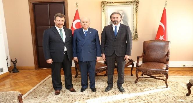 MHP Lideri Bahçeli'den Marmaris basınına teşekkür