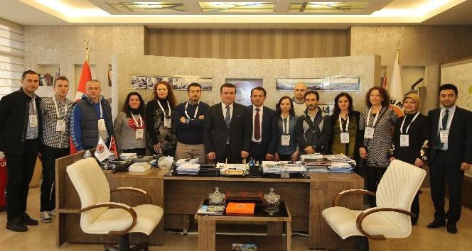 Yabancı öğretmenlerden Atakum ziyareti