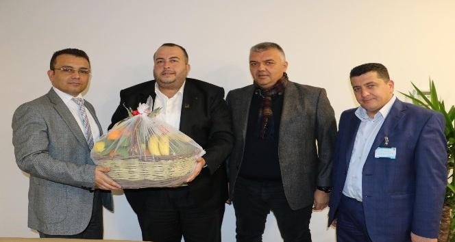 Akhisar Pazarcılar Odası'ndan Başkan Ergün'e Ziyaret