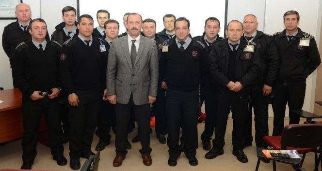 ESOGÜ özel güvenlik personeline KBRN eğitimi verildi