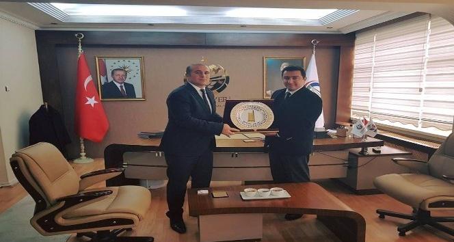 Başkan Bakıcı'dan Pazaryeri Kaymakamı Taş'a ziyaret