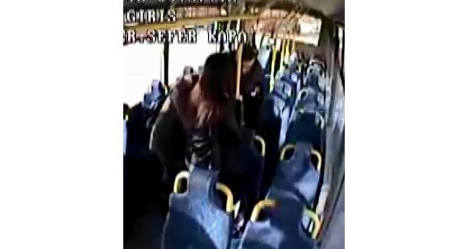 Kahraman şoför otobüste bayılan öğrenciyi hastaneye yetiştirdi
