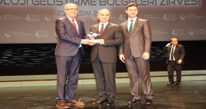 Samsun TEKNOPARK'a üçüncülük ödülü