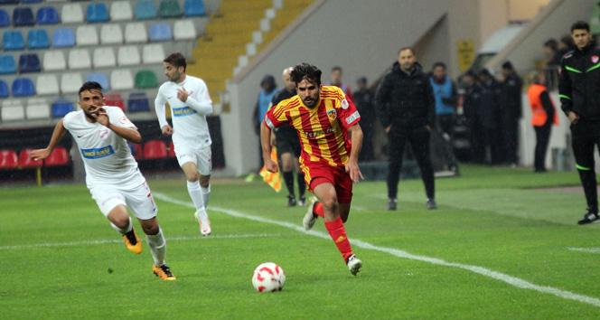 Kayserispor Bolusporu 3 golle geçti