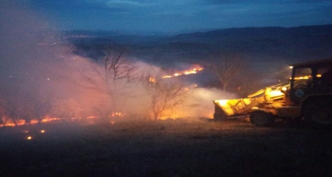 Tokat'ta yangın