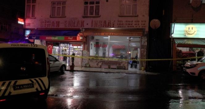 Sultanbeylide kahvehaneye silahlı saldırı: 4 yaralı