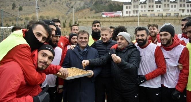 Gümüşhanesporda Trabzonspor maçının hazırlıkları sürüyor
