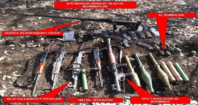 """TSK: """"Cudi Dağı'nda 14 terörist etkisiz hale getirildi"""""""