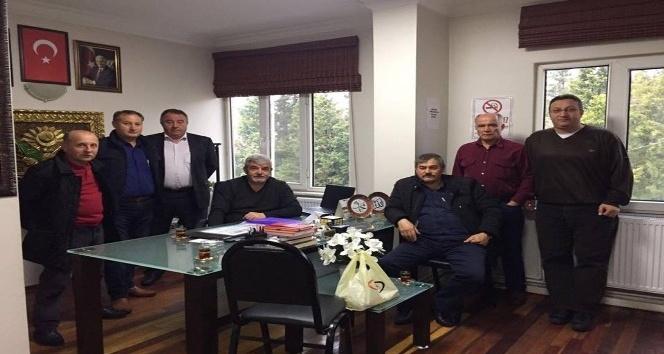 Köy muhtarlarından Başkan Koç'a isteklerini anlattı