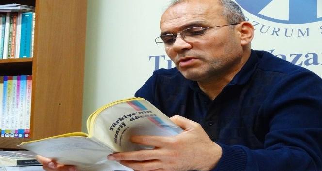 Abdullah Nehir, TYB Erzurum Şubesi'nde Nurettin Topçu'yu anlattı