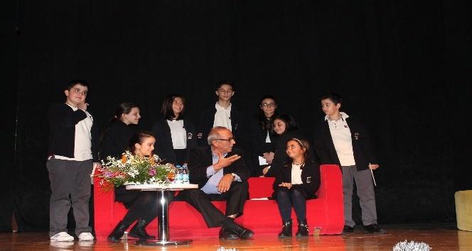 TED İzmir, Şair Ataol Behramoğlu'nu ağırladı