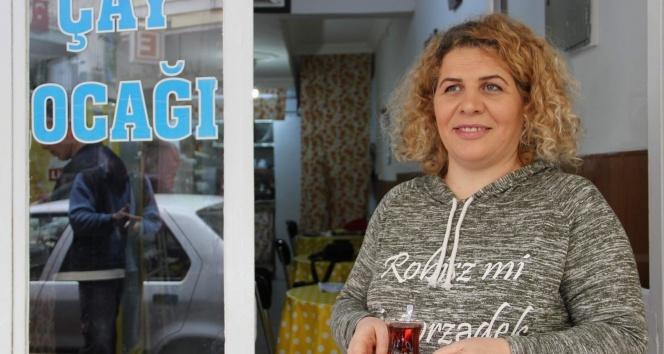 Kadın işletmeci WhatsApp çay isteme hattı kurdu