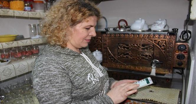 (Özel Haber) Kadın işletmeci 'WhatsApp çay isteme hattı' kurdu